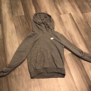nike sweatshirt cowl neck